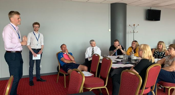 Employer running event at Middlesborough event