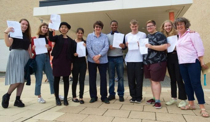 A-level results at Thomas Tallis School
