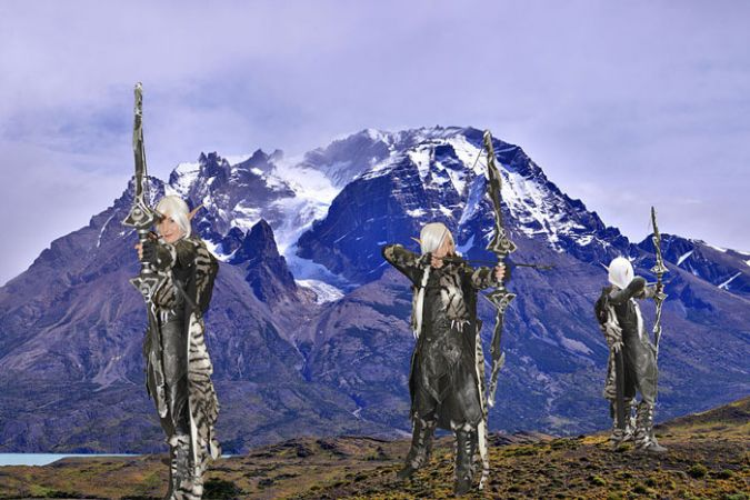 Elves composite shot