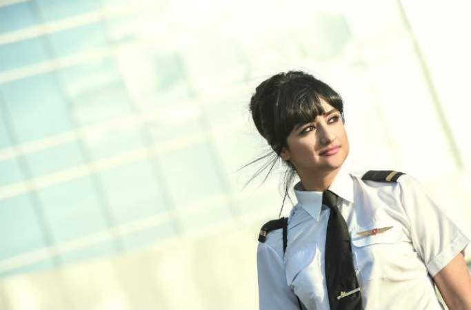 Ghada Al Rousi pilot