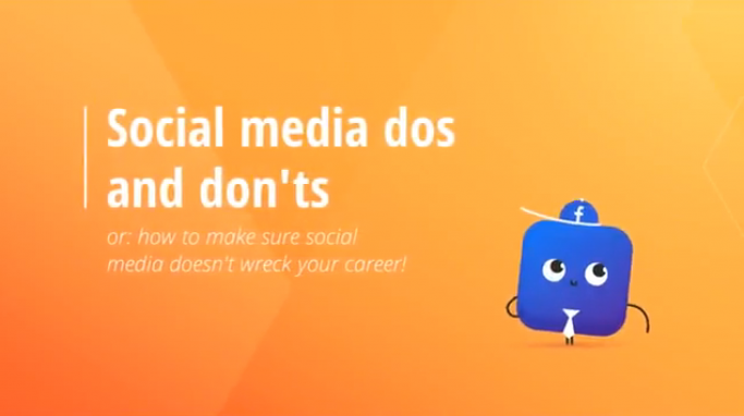 Social media dos and don'ts graphic