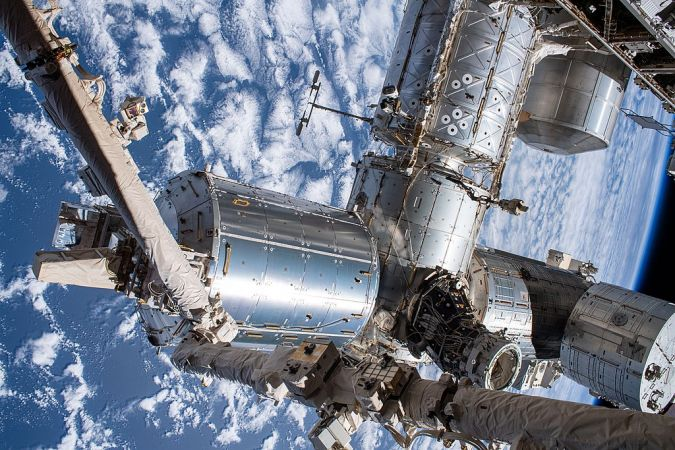 International Space Station (ISS) from outside