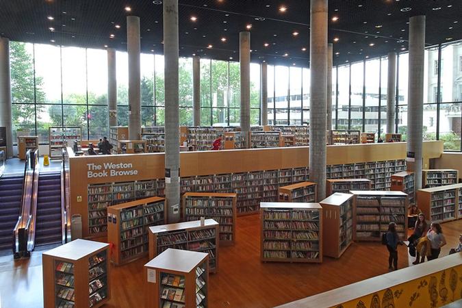 Birmingham Library UK interior
