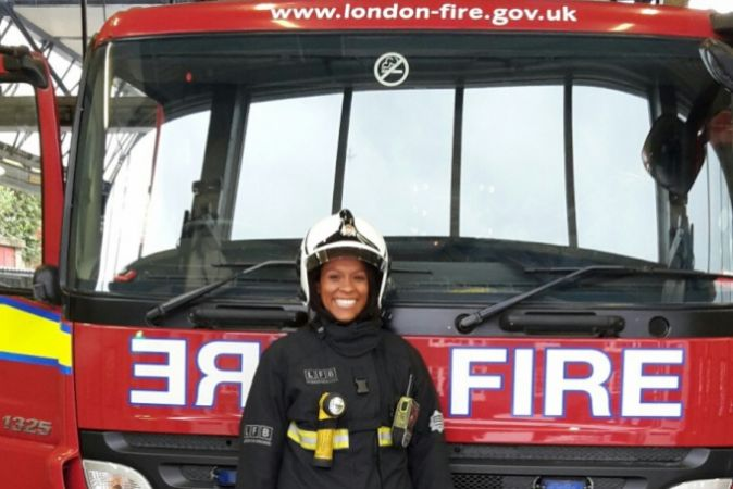 Photo of Verona Clarke from the London Fire Brigade