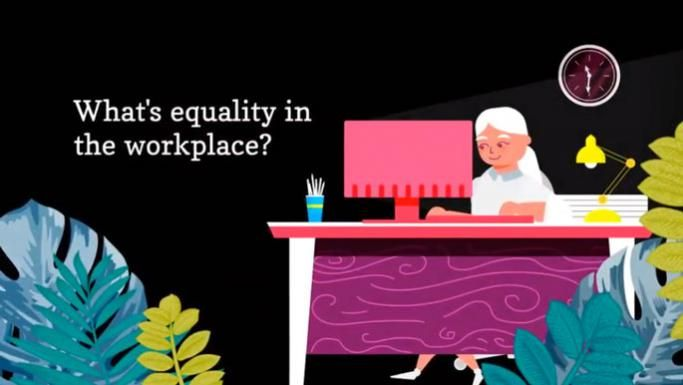 Equality at work video screenshot