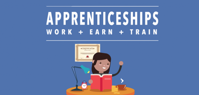 Apprenticeships infographic image