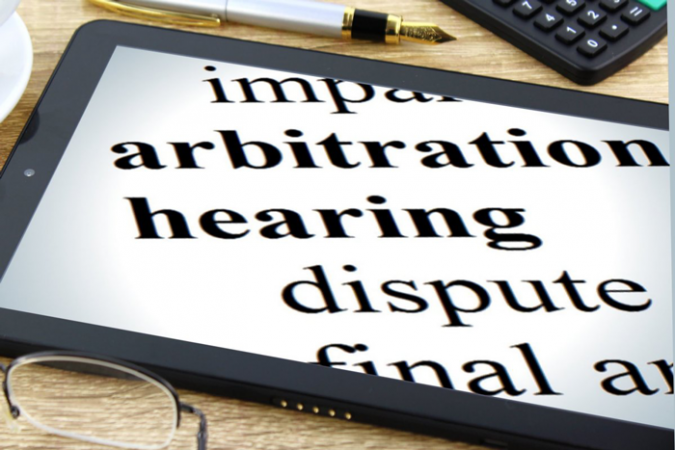Dispute arbitration graphic