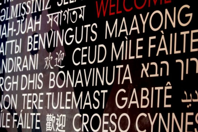 'Welcome' in different languages