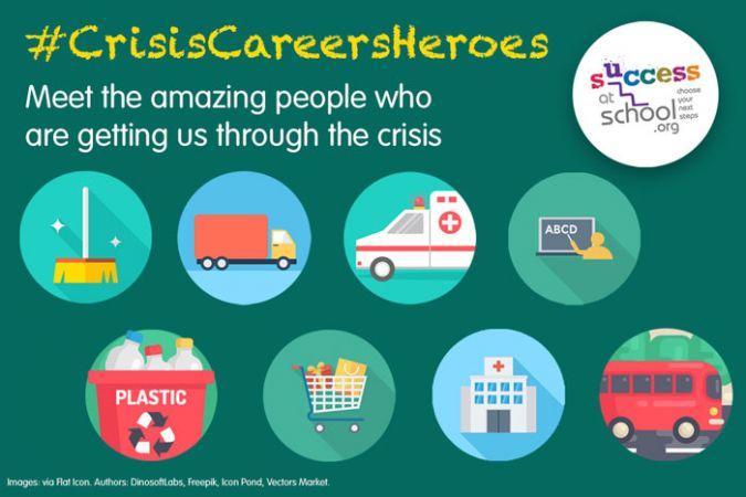 #CrisisCareersHeroes: Meet the people getting us through the coronavirus crisis