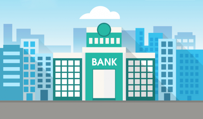 High-street bank graphic