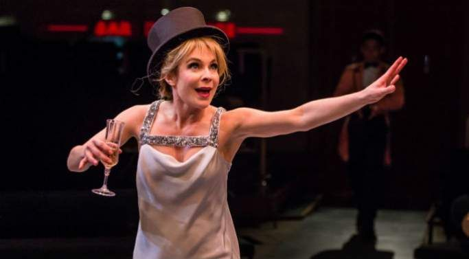 Kaisa Hammarlund as Charity Hope Valentine in Sweet Charity