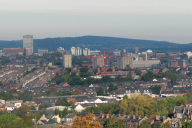 Sheffield city from a distance